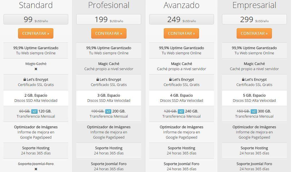 webempresa-hosting-joomla-planes-y-precios